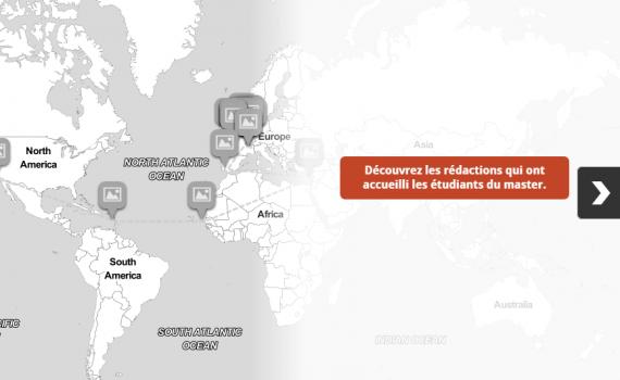 Les rédactions du monde entier accueillent les étudiants en stage